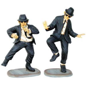 Blues Buddies Pair (3Ft) Fiberglass Novelty Collectable Decor