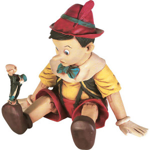 "16""H Boy Sitting Statue Novelty Collectable Decor"