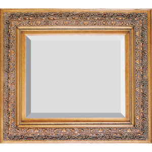 Grand Venetian Frame 48X60 Burnished Gold