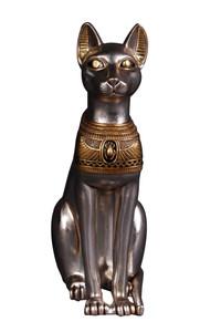 Egyptian Cat Goddess Statue