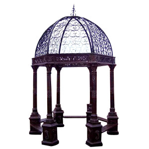 Iron Hexagon Gazebo