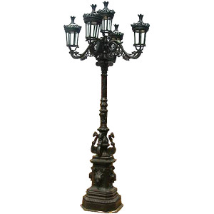 Cast Iron Street Light