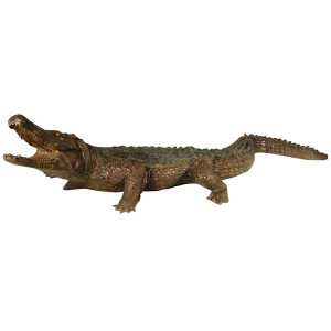 Giant Crocodile Bronze Statue