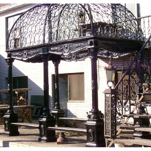 Iron Garden Passage Gazebo