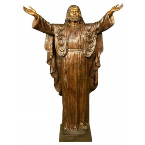 Jesus Antique Bronze