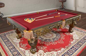 Monarch Oak Pool Table  Professional Size (KIT)