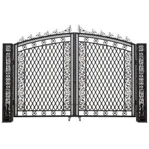 Bridgeton Moore Aluminum Tall Driveway Gate