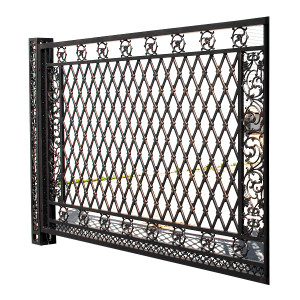 Bridgeton Moore Aluminum Large Fence Panel