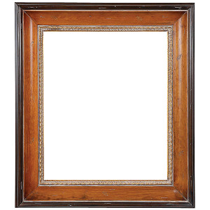 American Woods Frame 30X30 Light and Dark Pine