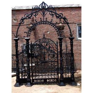 Fancy Promenade Gate Handmade Iron Gate for Driveway Entry