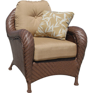 Villanova Woven Outdoor Club Chair