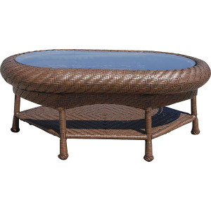 Villanova Woven Outdoor Cocktail Table
