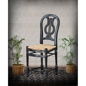Lyre Counter Stool - BK