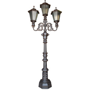 Bridgeton Moore Street Light Aluminum Outdoor Lamp Post