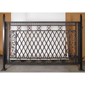Aluminum Small Fence Panel by Bridgeton Moore