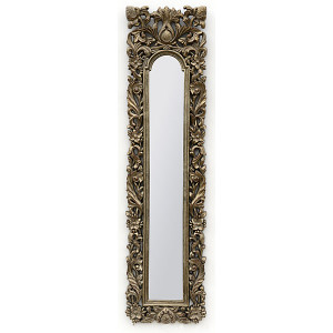 Silver Narrow Mirror