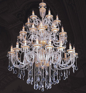 Grand Regal Crystal Chandelier