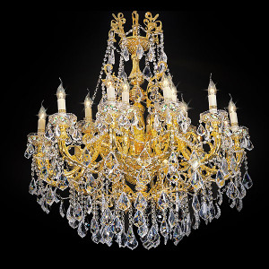 Regal Crystal Chandelier