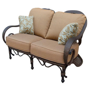 Grand Bonaire Weave Outdoor Loveseat