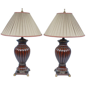 Baltmore Ribbed Lamp Set