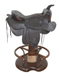 Saddle Counter Stool