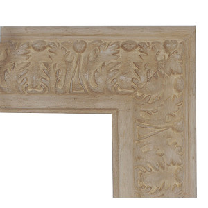 Acanthia Ecru Frame 30X30 French White