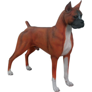"36.25""H Boxer Novelty Collectable Decor"