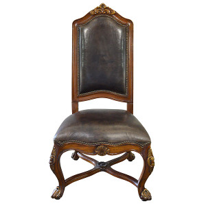 King Mahogany Side Chair-VE