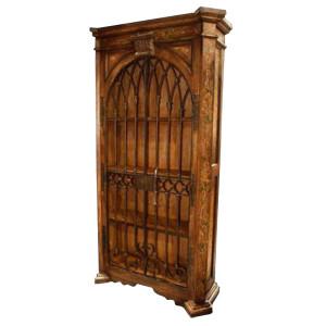 Peruvian Iron Arch Cabinet