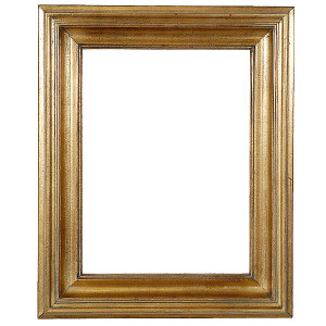 Open Woods Frame 12X24 Antique Gold