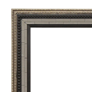 Ebony and Mirage Frame 24X36