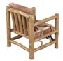 Fur Teak Lodge Arm Chair