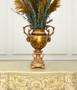 Golden Swirl Vase Tall