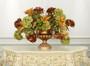 Golden Swirl Vase