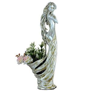 Ivory Lady Vase