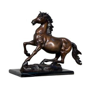 Horse on Marble Base