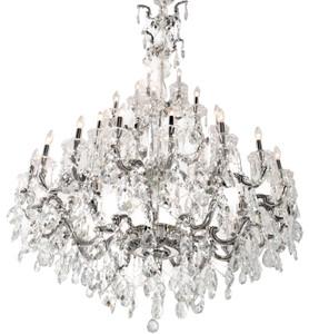 Riviera Grand Chandelier Silver