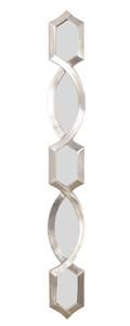 Diamond Stack Mirror Silver