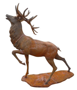 Antiqued Deer - Cast Iron