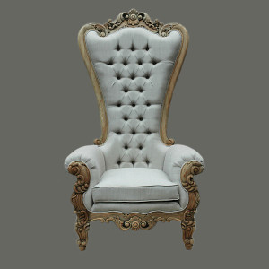 Continental Linen Queen Chair
