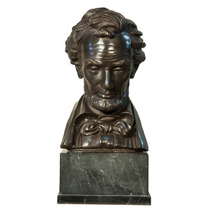 Lincoln Bust on Marble Base