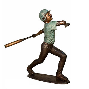 Baseball Player 4 - Bronze