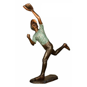 Baseball Player 5 - Bronze