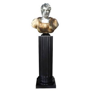 Bust on Pedestal -MultiCol Mrb