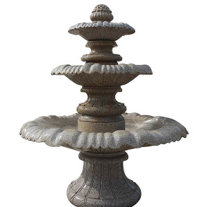 Three Tier Fountain - Granite