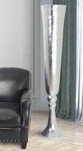 Dramatic Argento Tall Vase