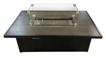 Miramar Gas & Glass Fire Pit Table