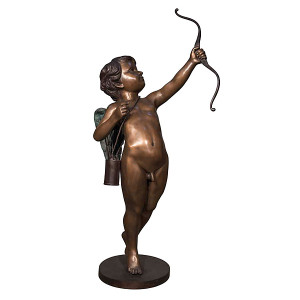 Cupid w/Bow - Bronze