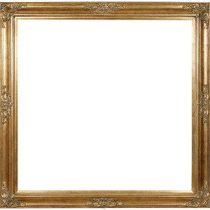 Grand Victorian Frame 30X30 Antique Gold