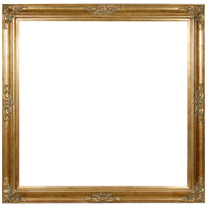 Grand Victorian Frame 36X36 Old English
